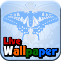 Light-blue butterfly! icon