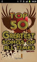 Screenshot of The 50 Greatest Songs Of All T