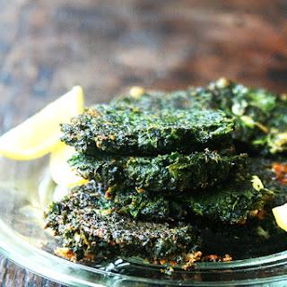 Dark Leafy Green Fritters Recipe