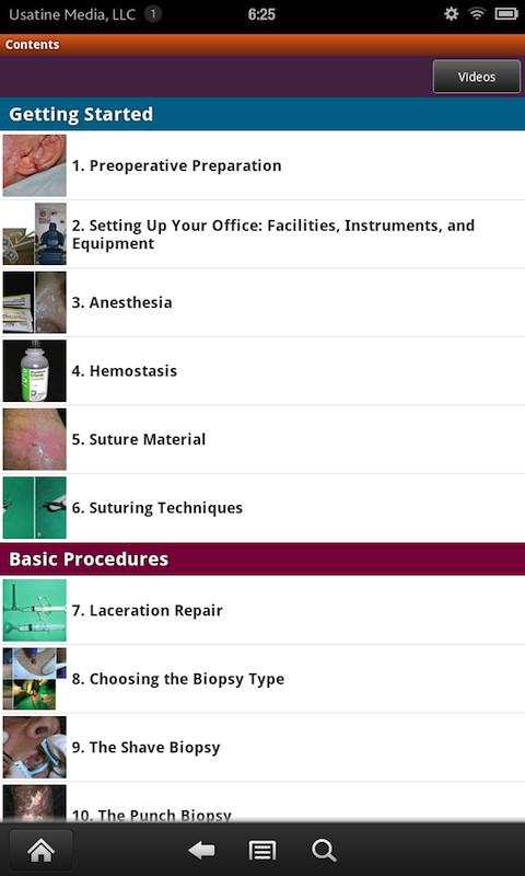 Dermatologic Procedures Screenshot 1