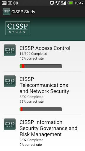 CISSP Study Questions 2015