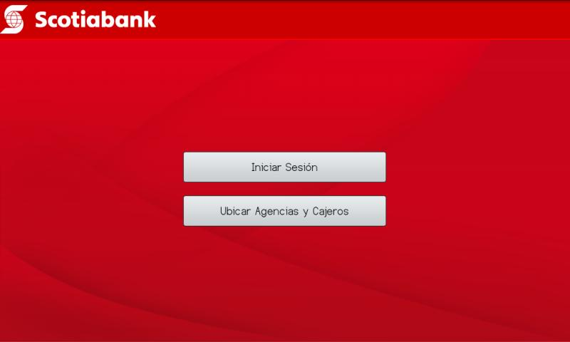 Banca Móvil Scotiabank Perú- screenshot