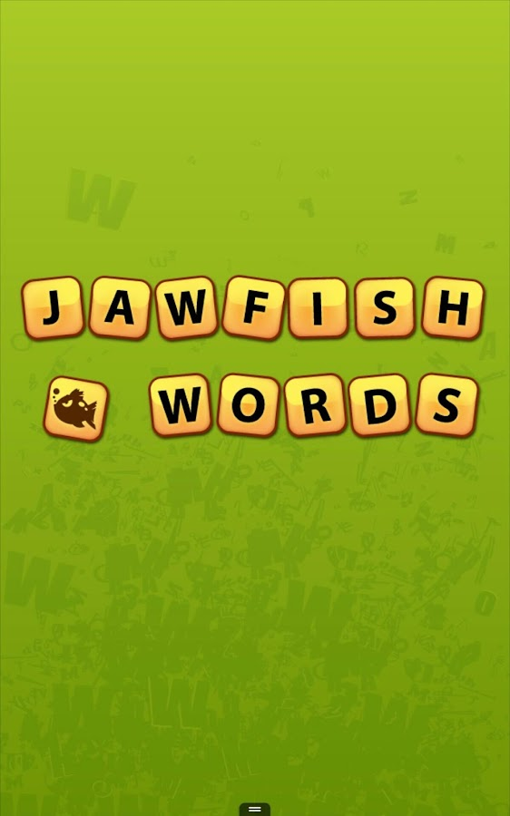 Jawfish Words - screenshot