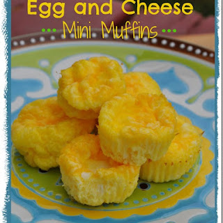 Egg and Cheese Mini Muffins.