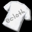 着せ替えファッションコーディネート☆ecloth logo