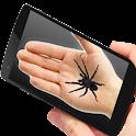 Broma de la araña en la mano icon