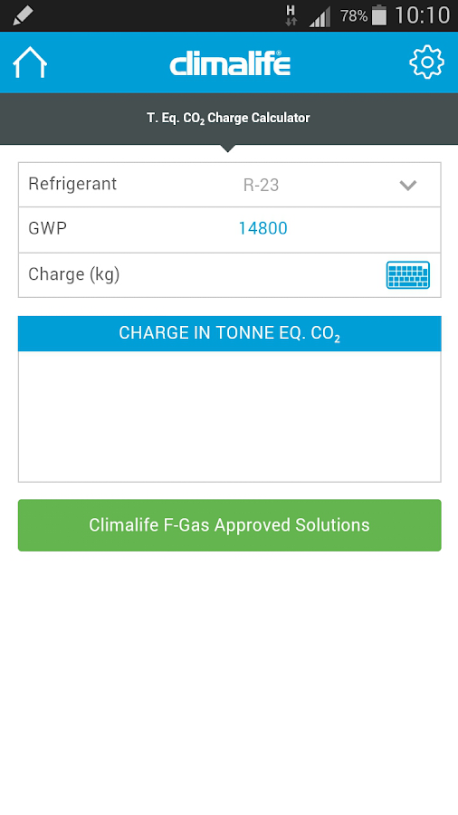 F-Gas Solutions- screenshot