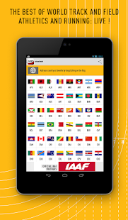 IAAF.org - screenshot thumbnail