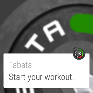 Workout Timer Tabata Wear- screenshot