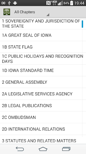 【免費書籍App】Iowa Law (Complete Iowa Code)-APP點子