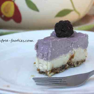 Raw Dairy Free Cheesecake Duo