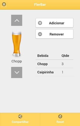 FlerBar - Contador de Bebidas