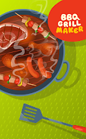 Screenshot of BBQ Grill Maker - Cooking Game