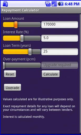 Repayment Calculator Free