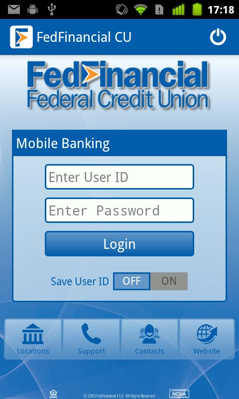FedFinancial Mobile Banking- screenshot
