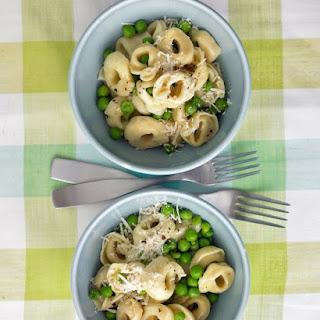 Tortellini with Peas