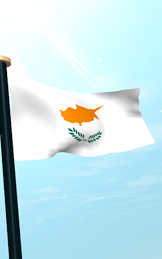 【免費個人化App】塞浦路斯旗3D免費動態桌布-APP點子