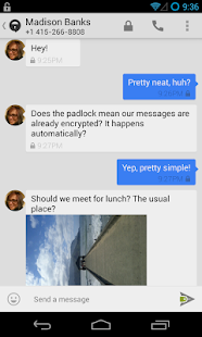 TextSecure Private Messenger - screenshot thumbnail