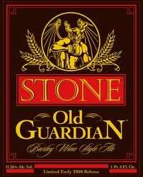 Logo of Stone Old Guardian Barley Wine