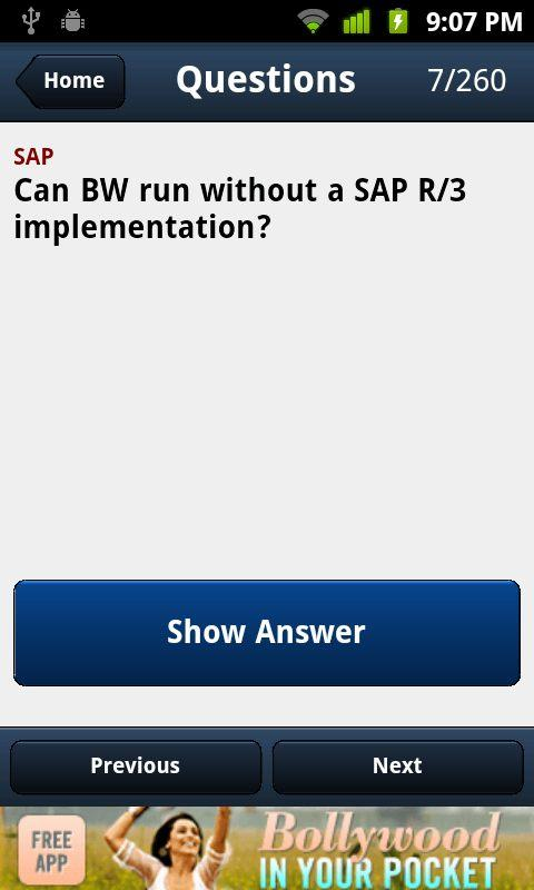 SAP Interview Questions - screenshot