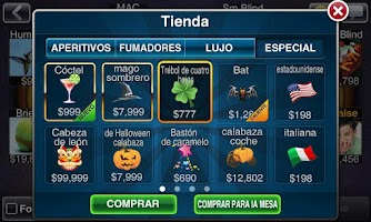 Screenshot of Texas Holdem Póquer Deluxe
