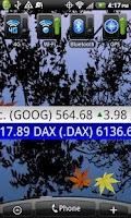 Screenshot of Stock Ticker Tape Pro Widget