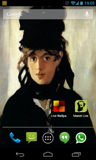 Manet Live Wallpaper