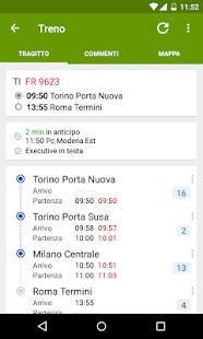 Train Timetable Italy PRO - screenshot thumbnail