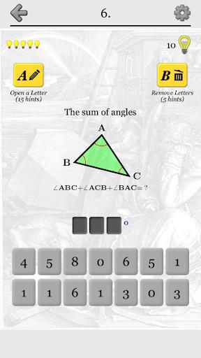 Geometric Shapes: Triangles & Circle Geometry Quiz 2.0 screenshots 8