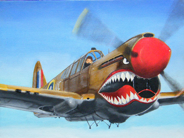 Sharkmouth by Paul James - Painting All Painting
