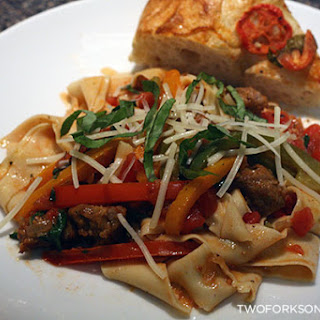 Sausage and Pepper Pasta
