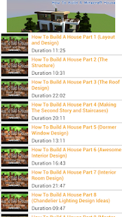 Build A Minecraft House Guide