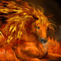 Fire Horse Live Wallpaper logo