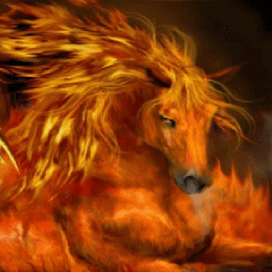 Fire Horse Live Wallpaper