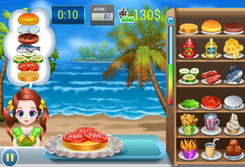 Burgers Mania- screenshot