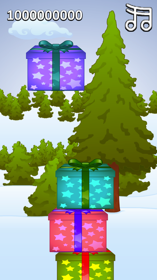 Tiny Gift Tower - screenshot