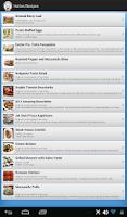 Screenshot of Italian Recipes