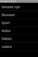 Screenshot of AM Dagens Nyheter