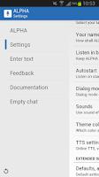 Screenshot of ALPHA Lite