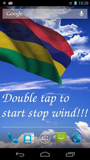 3D Mauritius Flag LWP +