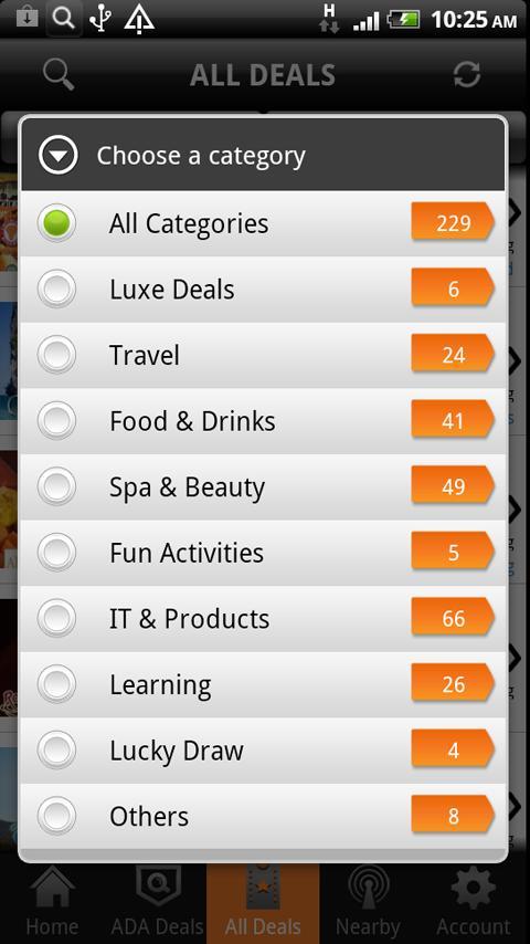 AllDealsAsia All Deals ADA App- screenshot