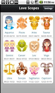 Love Horoscopes - screenshot thumbnail