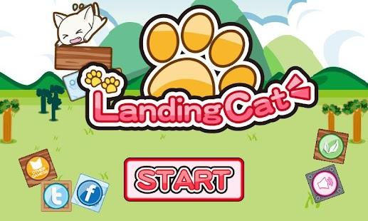 Landing Cat [Sweet Cat Puzzle]