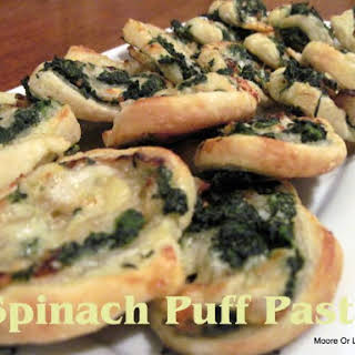 Spinach Puff Pastry.