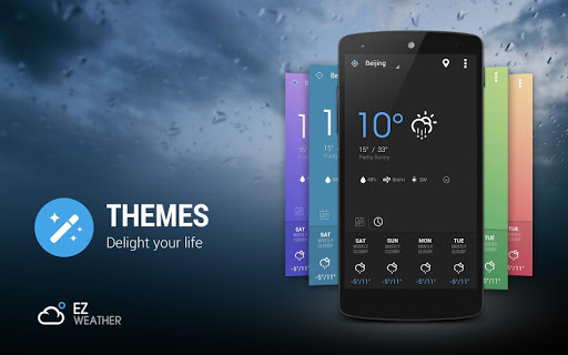 玩天氣App 精緻科幻風格高解析度高品質天氣圖標包免費 APP試玩