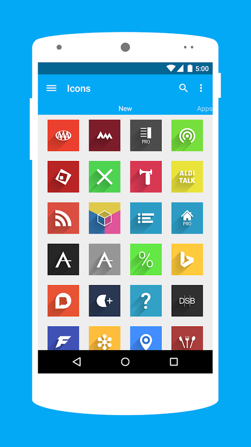 Voxel - Icon Pack - screenshot