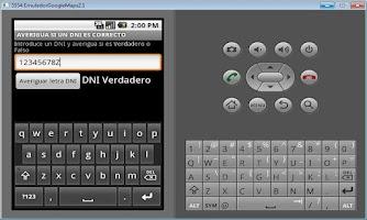 Screenshot of DNI Correcto