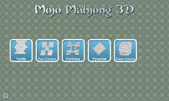 Screenshot of Mojo Mahjong 3D