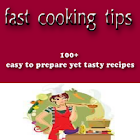 fast cooking tips icon