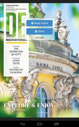 DE Magazin Deutschland